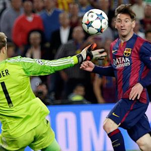 Lionel Messi getting major props after crazy goal