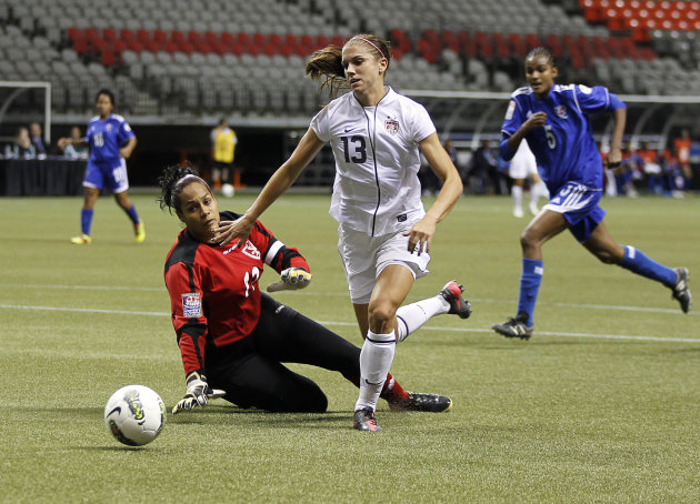 2012 CONCACAF Women&amp;#39;s Olympic Qualifying - Dominican Republic v United_States