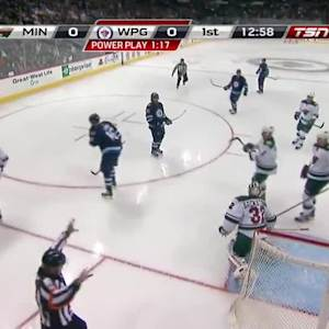 Minnesota Wild at Winnipeg Jets - 09/22/2014