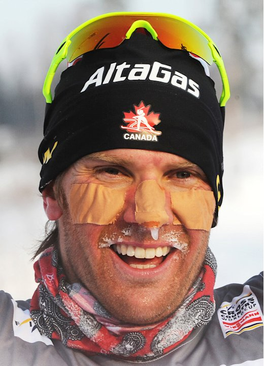 Devon Kershaw Of Canada Celebrates AFP/Getty Images