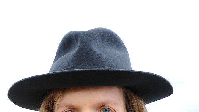 "Musician Beck poses for a portrait at his home on Friday, Dec. 14, 2012, in Malibu, Calif.  Beck Hansen wants you to think about the way music has changed over the last century and what that means about how human beings engage each other these days. Labouring over the intricate and ornate details of his new ""Song Reader"" sheet music project, he was struck by how social music used to be something we've lost in the age of ear buds. (Photo by Katy Winn/Invision/AP)"