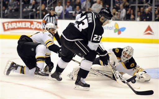 Bruins play another strong 3rd period, beat Kings