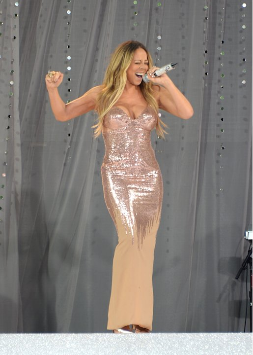 "Mariah Carey Performs On ABC's ""Good Morning America"""