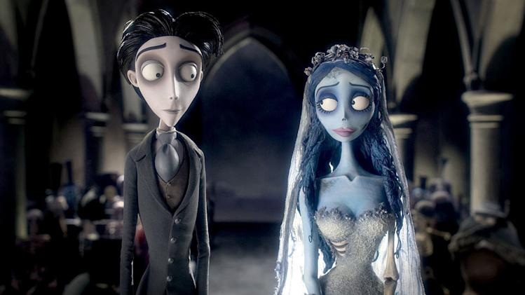 5 Best Movie Weddings AP Gallery Tim Burton's Corpse Bride