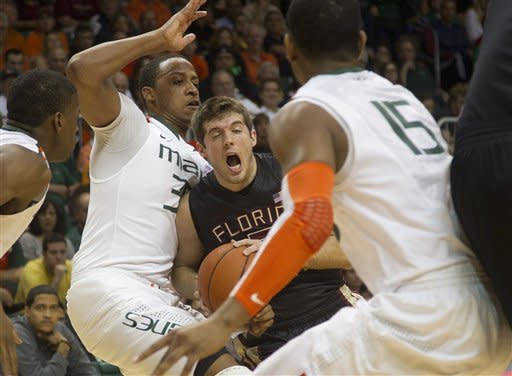 Scott leads Miami past No. 15 Florida State 78-62