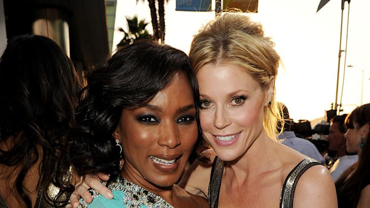 Jumping the Broom LA Premiere 2011 Angela Bassett Julie Bowen