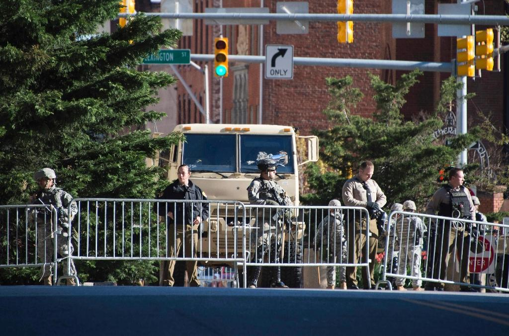 Troops on Baltimore streets after night of chaos