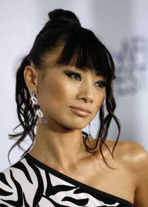 """FILE - In this file photo taken Nov. 7, 2007, Chinese actress Bai Ling arrives to the premiere of """"Southland Tales"""" in Los Angeles. Bai is part of the fifth season cast of VH1's """"Celebrity Rehab with Dr. Drew."""" (AP Photo/Chris Pizzello, File)"""