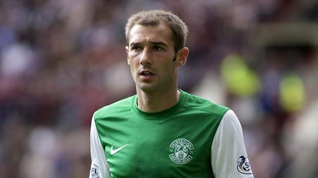 Hibernian's Kevin Thomson has played three times for Scotland