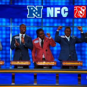 NFL Players Talk Women's Body Parts on 'Celebrity Family Feud'