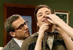 Steve Carell and Jimmy Fallon | Photo Credits: NBC