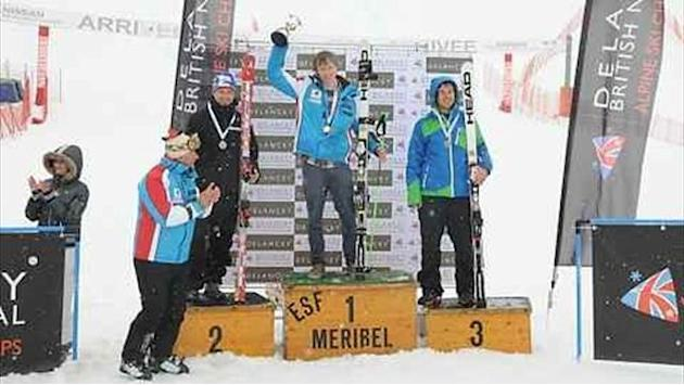 Alpine Skiing - Gower and Beattie take maiden British titles in Meribel