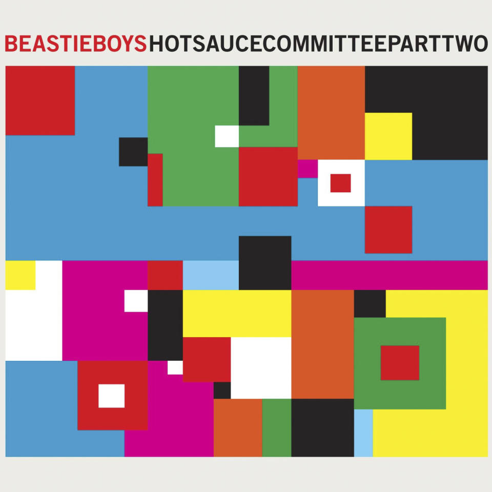 "In this CD cover image released by Capitol Records,  the latest release by the Beastie Boys, ""Hot Sauce Committee Part Two,"" is shown.  (AP Photo/Capitol Records)"