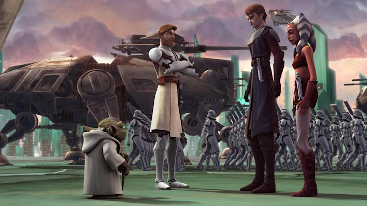 Star Wars: The Clone Wars Production Stills Warner Bros. 2008