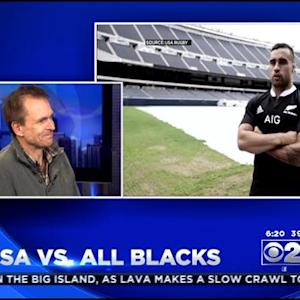 'The Amazing Race' Host In Chicago For Rugby Match