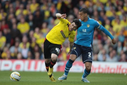 Soccer - npower Football League Championship - Watford v Leeds United - Vicarage Road