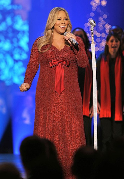 Mariah Carey TNT Christmas