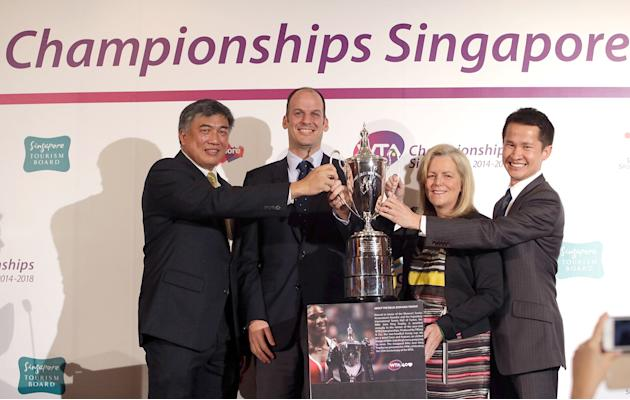 WTA Championships Awarded To Singapore For 2014-2018
