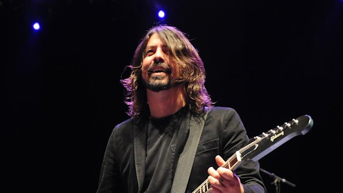 Nicks, Fogerty, more perform with Grohl in NYC