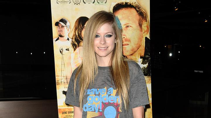 The Dry Land LA Premiere 2010 Avril Lavigne