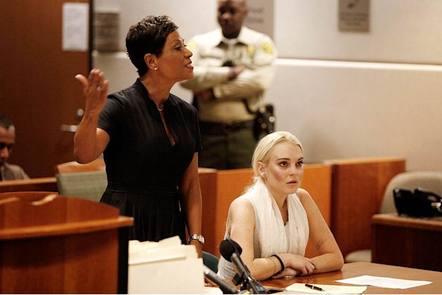 Lindsay Lohan Court Hearing