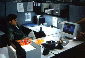 Ron Livingston in 20th Century Fox's Office Space