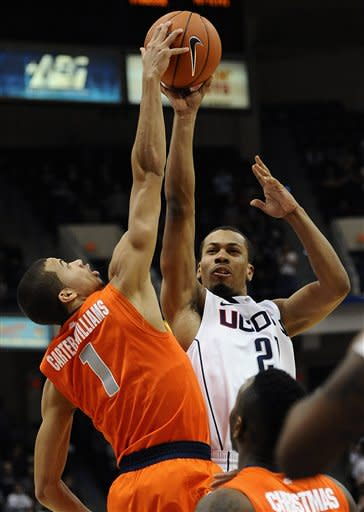 Syracuse UConn Basketball