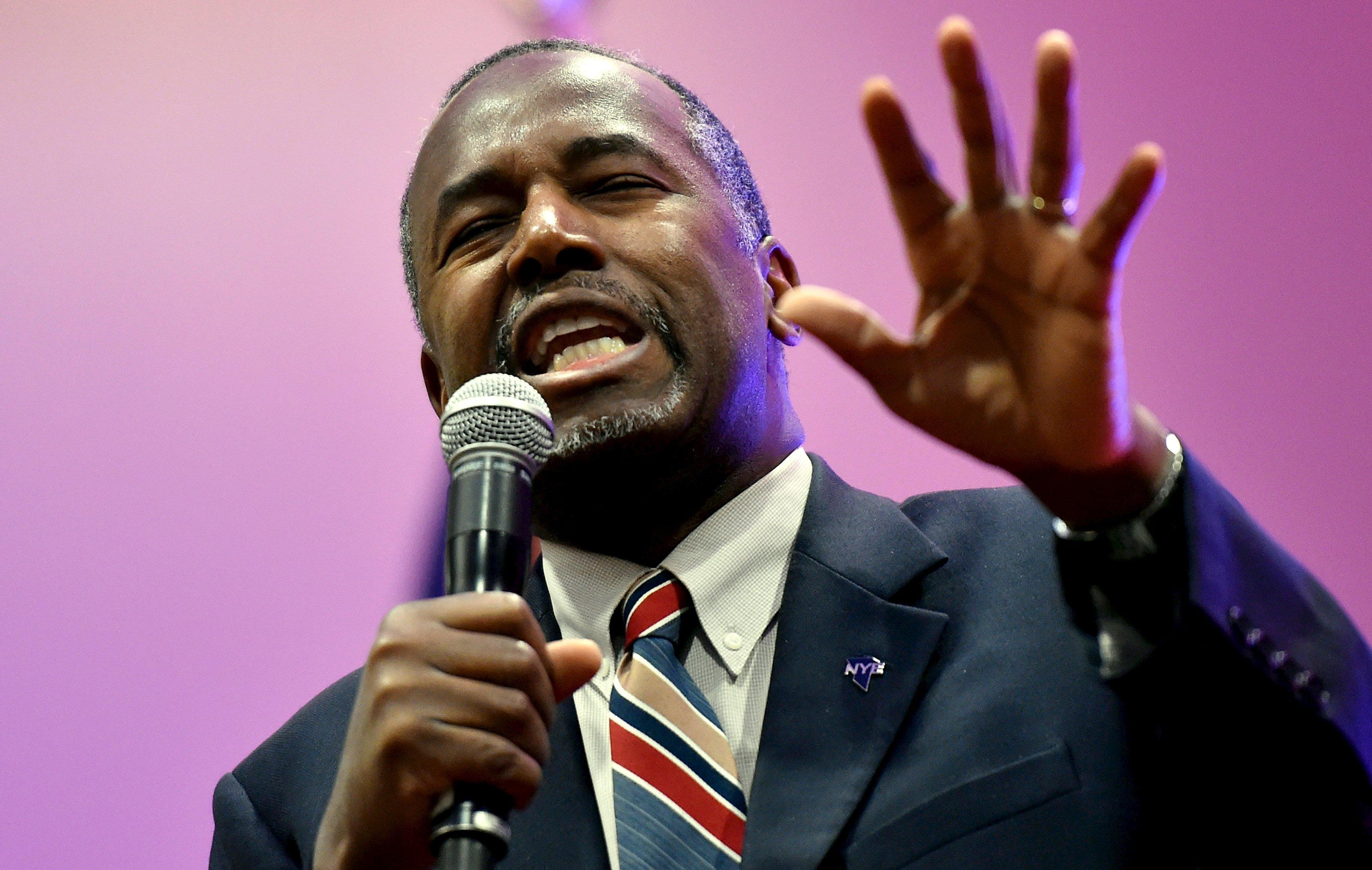 Why Carson Might Poison the Well for Cruz with Evangelicals