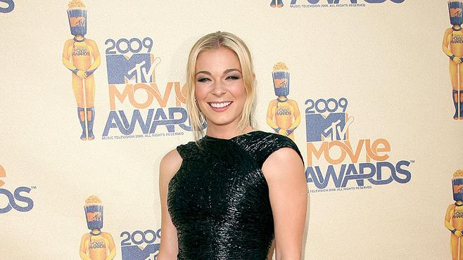 Report Card MTV Movie awards 2009 LeAnn Rimes