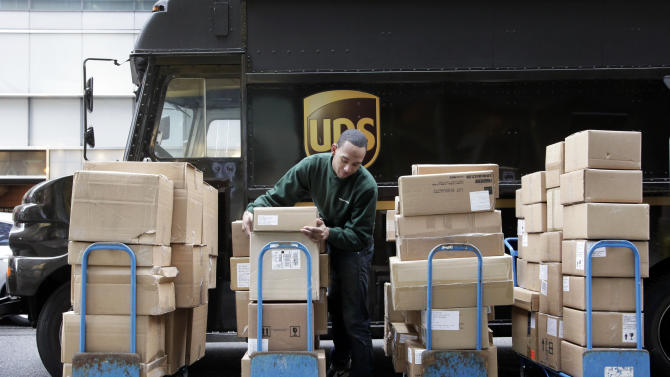UPS sees busier, intense holiday shopping season