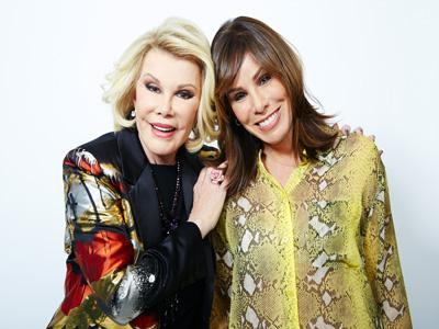 Oscars Equal Fashion for Joan and Melissa Rivers