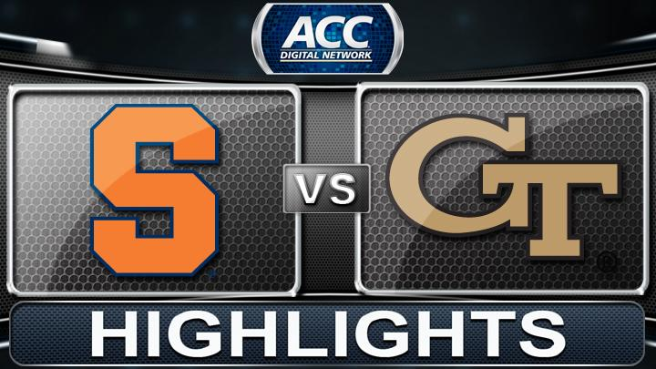 Syracuse vs Georgia Tech | 2013 ACC Football Highlights