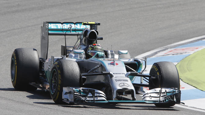 Rosberg claims pole position for German GP