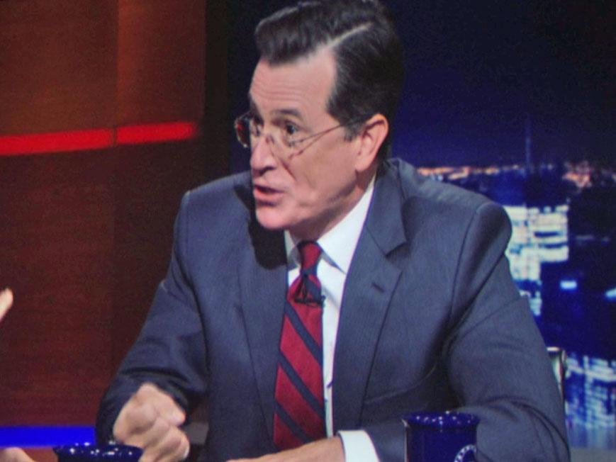 Stephen Colbert makes a shockingly vicious appearance on 'House Of Cards'