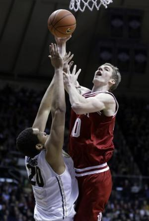 No. 3 Indiana rolls past rival Purdue 97-60