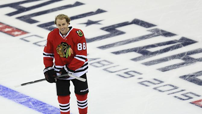 Patrick Kane, welcome to the Hart Trophy race