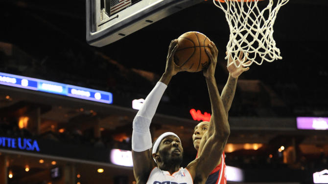 NBA: Atlanta Hawks at Charlotte Bobcats