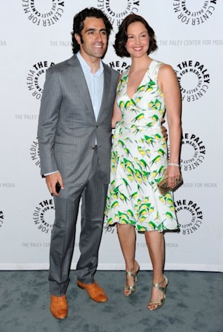 Ashley Judd and her husband Dario Franchitti attend The Paley Center for Media&#39;s screening of &quot;Missing&quot; on April 10, 2012 -- Getty Images