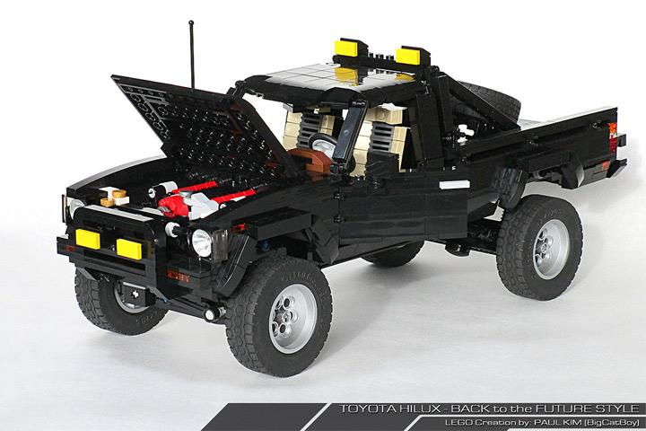 This Back to the Future LEGO Toyota 4×4 is Amazing