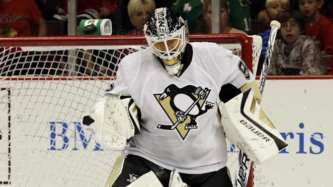 Penguins G Vokoun out 3-6 months with blood clots
