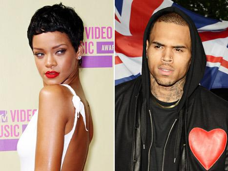 Rihanna Ignores, Disses Chris Brown at Hollywood Club