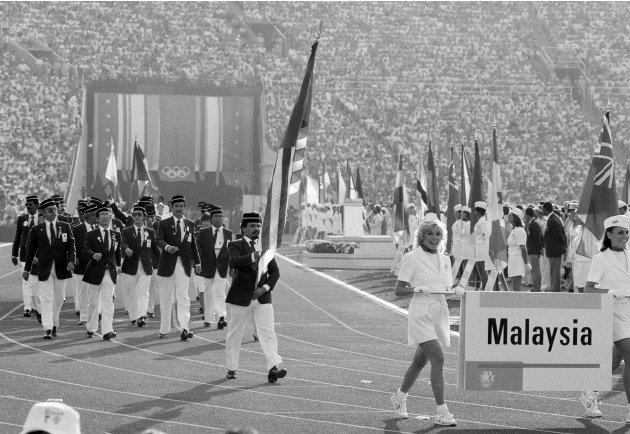 Malaysia at the 1984 Los Angeles Olympics