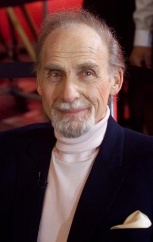 FILE - This Oct. 25, 1999 file photo shows Sid Caesar in New York. Caesar, whose sketches lit up 1950s television with zany humor, died Wednesday, Feb. 12, 2014. He was 91. (AP Photo/Richard Drew, File)