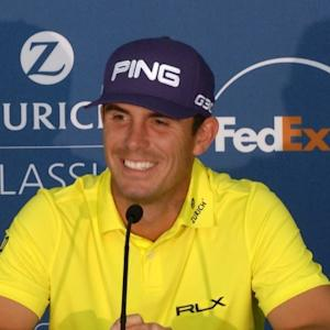 Billy Horschel comments before the Zurich Classic