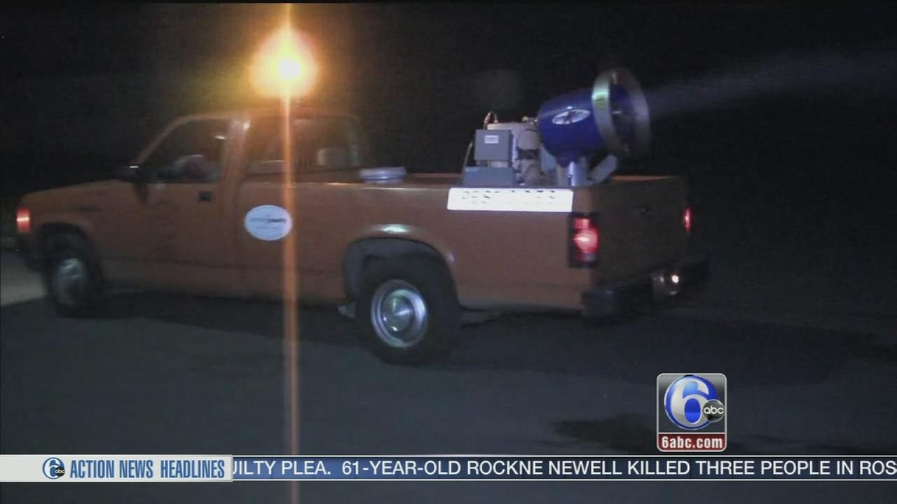 Battle against mosquitoes begins in South Jersey