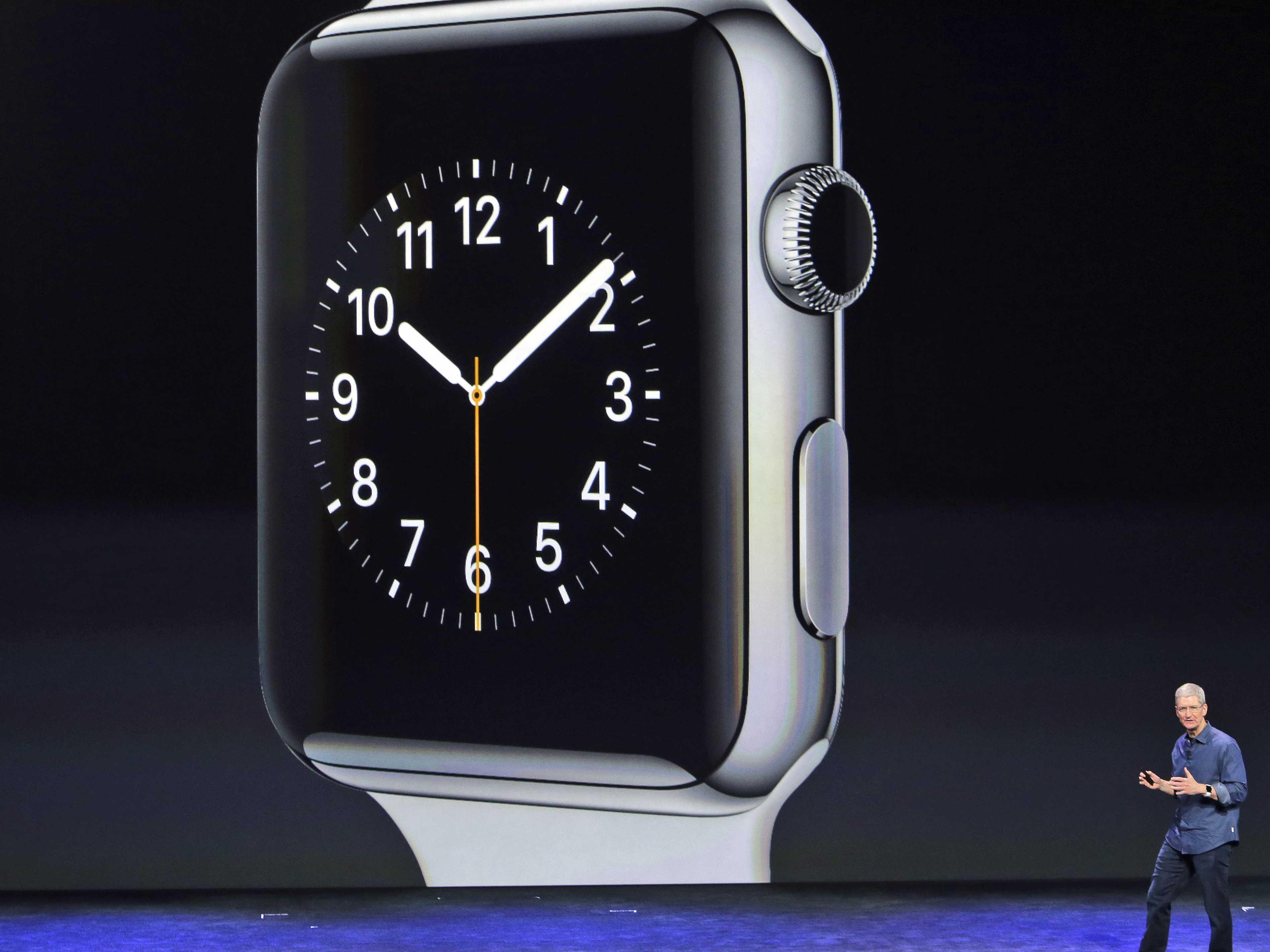 Tim Cook explains one very important way the Apple Watch will be like the iPhone