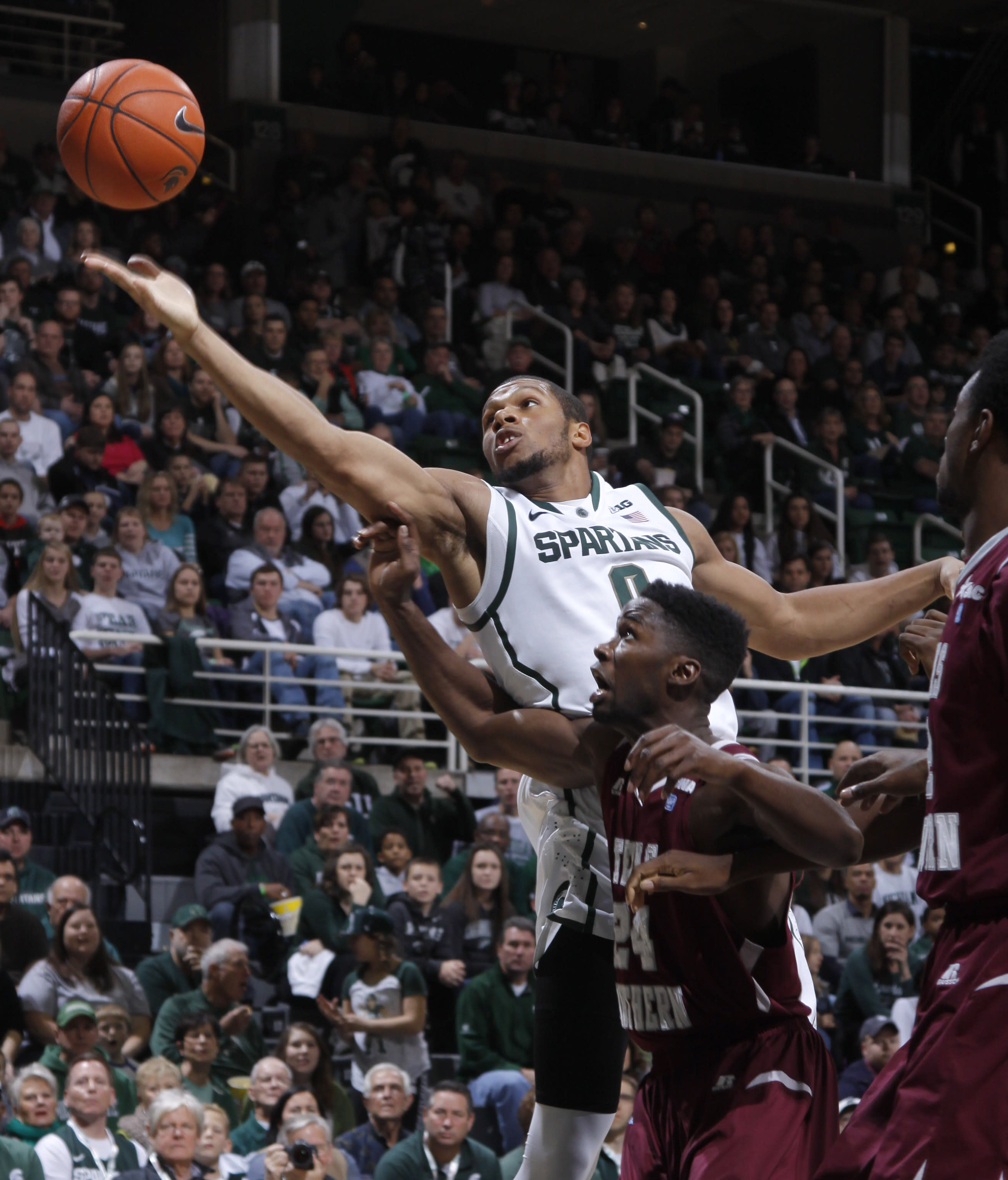 Texas Southern stuns Michigan State 71-64 in OT