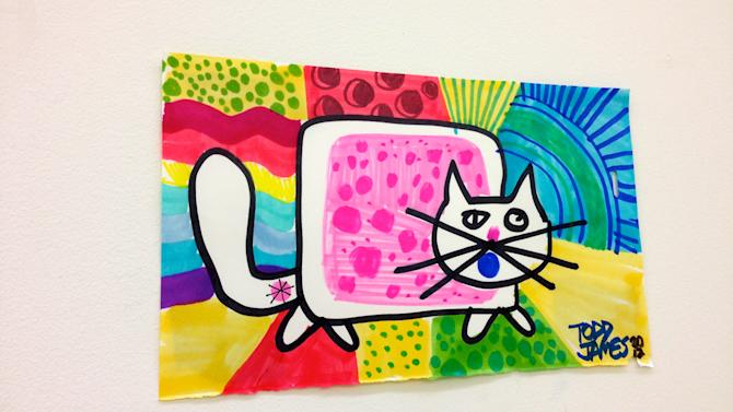 Nyan Cat Art Worth Meowing About