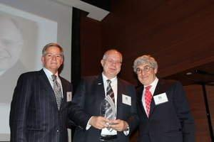 Dr. Edward B. Shils Entrepreneurial Fund Honors Sirona CEO Jost Fischer