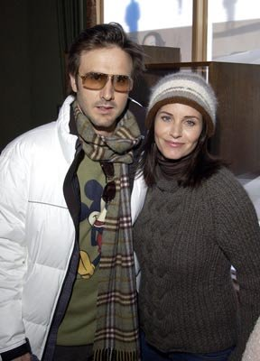 David Arquette and Courteney Cox 1/18/2004 Sundance Film Festival